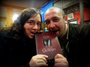 Raquel González e Ignacio Gancedo, colaboradora y editor de la Guía