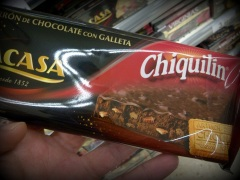 Chiquilín+chocolate=¿turrón?