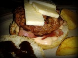 La hamburguesa de 'Big Joe Café',Gijón