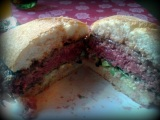 La hamburguesa de 'Caprichos', Gijón