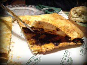 Pizza rellena=empanada