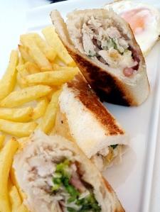 El sándwich Club Ócean