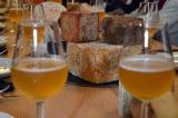 Cata de quesos 'Siete lobas' y cerveza 'Ordum'