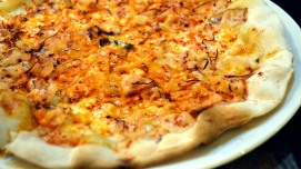 Pizza de pulpo