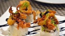 Roll de calamar picante